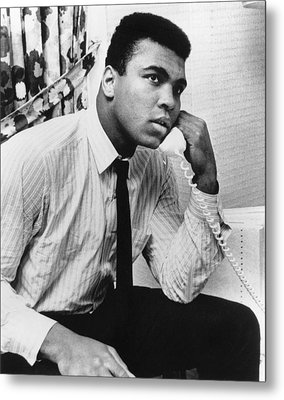 Muhammad Ali (1942- ) Metal Print by Granger