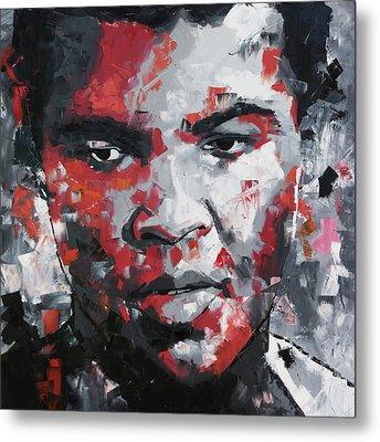 Muhammad Ali II Metal Print by Richard Day