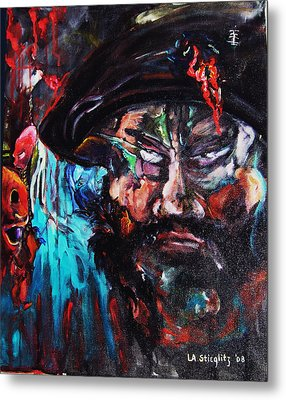 Mullah Madness Metal Print by Lee Anne Stieglitz