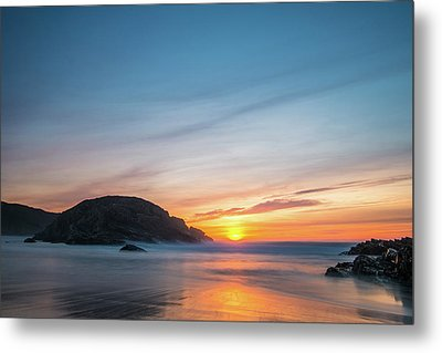 Murder Hole Beach Metal Print