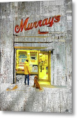 Murray's Metal Print