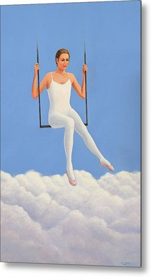Muse Of Midday Metal Print by Laurie Stewart