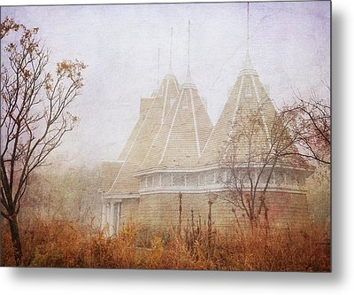 Metal Print featuring the photograph Music And Fog by Heidi Hermes