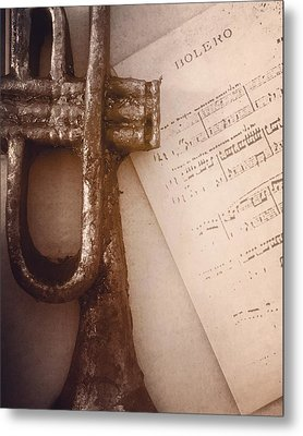 Music  Metal Print by Contemporary Art