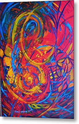 Music Metal Print by Jeanette Jarmon