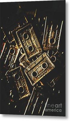 Music Nostalgia Metal Print by Jorgo Photography - Wall Art Gallery