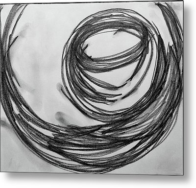 Music Sketch Study Leon Bridges Metal Print