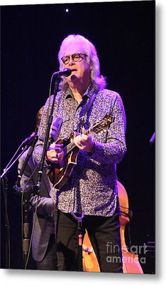 Musician Ricky Skaggs And Kentucky Thunder Metal Print by Concert Photos
