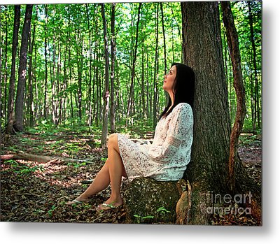 Metal Print featuring the photograph Musing.. by Nina Stavlund