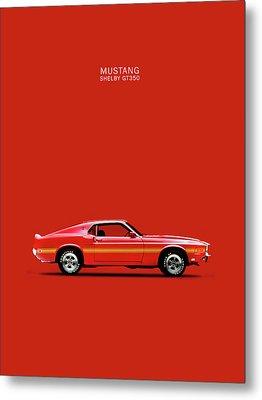 Mustang Shelby Gt350 Metal Print