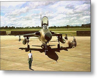 My Baby F-105 Metal Print