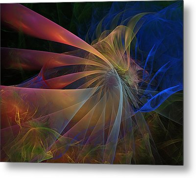 Metal Print featuring the digital art My Brothers Voice by NirvanaBlues