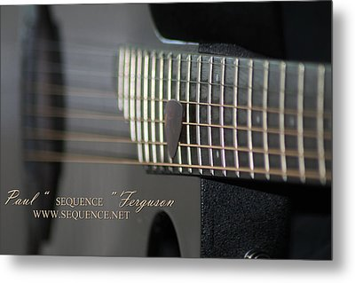My Guitar  5 2010 Metal Print by Paul SEQUENCE Ferguson             sequence dot net
