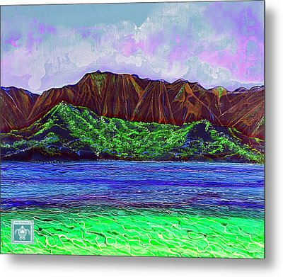 My Island Design  Metal Print