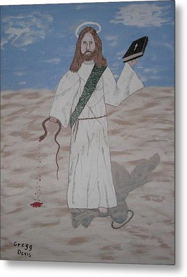 My Jesus Metal Print by Gregory Davis