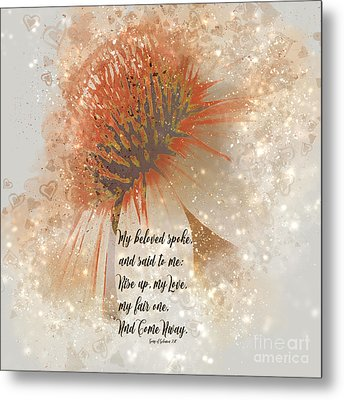 My Love My Fair One Metal Print by Beverly Guilliams