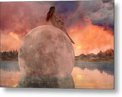 My Peaceful Place Metal Print by Betsy Knapp