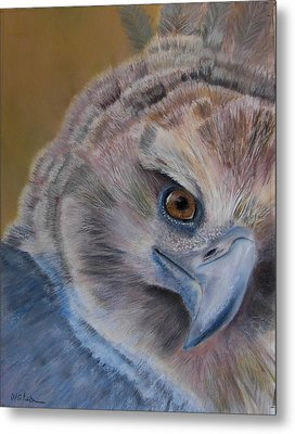 Metal Print featuring the painting My Point Of View by Ceci Watson