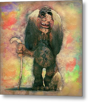 My Traveling Companion Metal Print by Jack Zulli