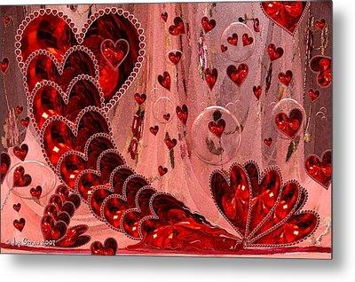 My Valentine Metal Print by Joy Gerow