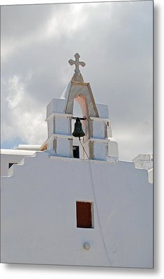 Mykonos Church Metal Print by Armand Hebert