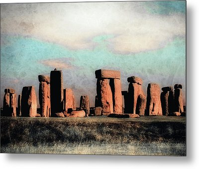 Metal Print featuring the photograph Mysterious Stonehenge by Jim Hill