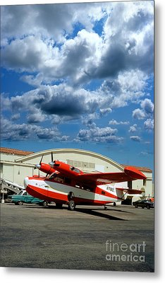 N780, Mckinnon G21g, Aleutian Goose, Turbo-prop Metal Print