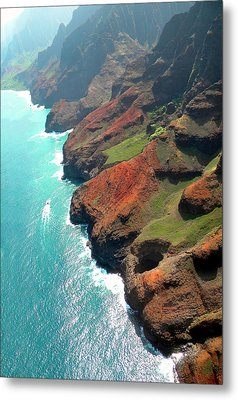 Napali Coast Of Kauai Metal Print by Frank Wilson