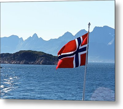 National Day Of Norway In May Metal Print