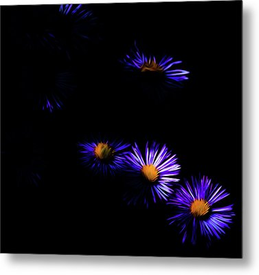 Metal Print featuring the digital art Natural Fireworks by Timothy Hack