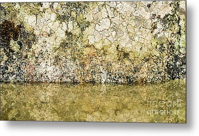 Metal Print featuring the photograph Natural Stone Background by Torbjorn Swenelius