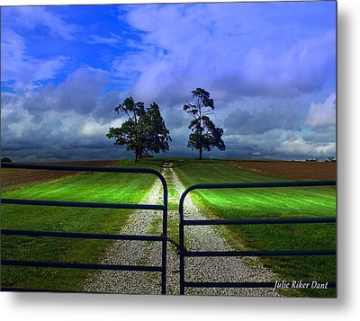 Nature Inaccessible Metal Print