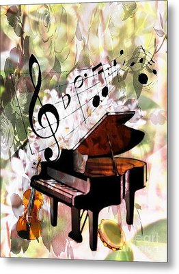 Nature Is Music To My Soul Metal Print