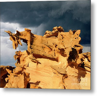 Nature's Artistry Nevada 3 Metal Print by Bob Christopher