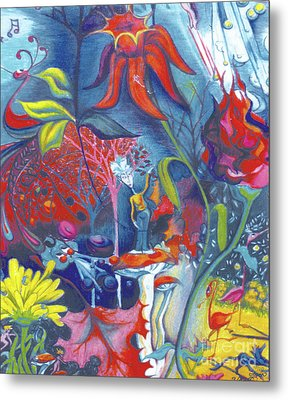 Natures Overature Metal Print by Genevieve Esson