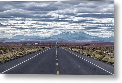 Metal Print featuring the photograph Navajo Route 15 by Charles Ables
