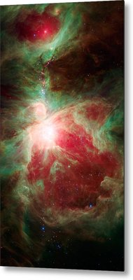 Near The Sword Of The Constellation Orion Metal Print by American School