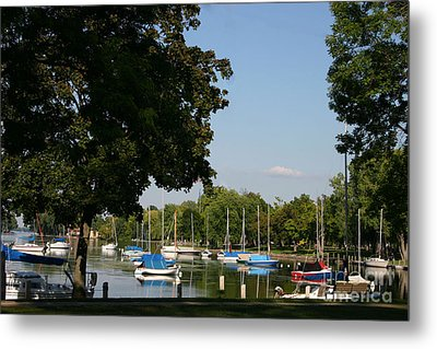 Neenah Harbor Metal Print