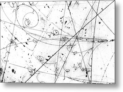 Neutrino Particle Interaction Event Metal Print