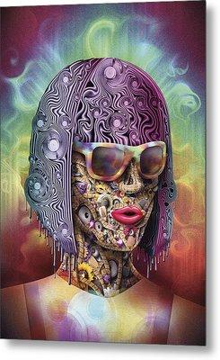 Never Hide Metal Print by Robert Palmer