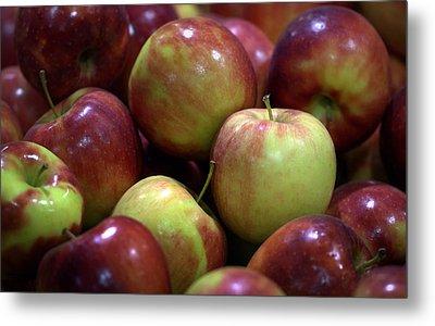 New Apples Metal Print by Joseph Skompski