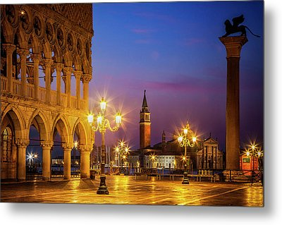 New Day At St. Marks Metal Print by Andrew Soundarajan