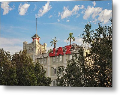 New Orleans - Jax Brewery Metal Print by Bill Cannon