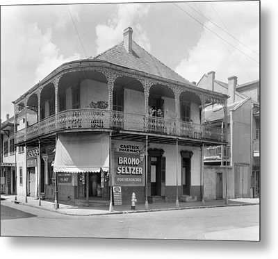 New Orleans Pharmacy Metal Print by The Granger Collection