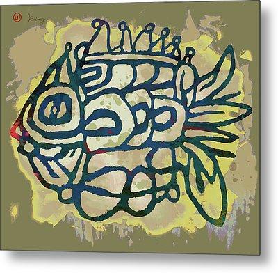 New Pop Art - Tropical Fish Poster Metal Print