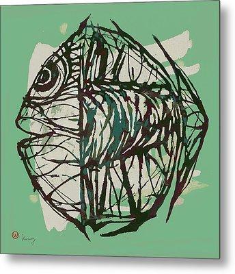 New Pop Art Tropical - New Fish Poster Metal Print