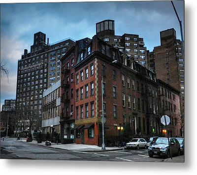 New York City - Greenwich Village 008 Metal Print by Lance Vaughn