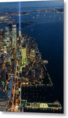 New York City Remembers 911 Metal Print