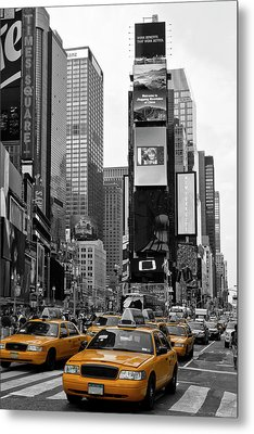 New York City Times Square  Metal Print