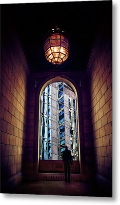 Metal Print featuring the photograph New York Perspective by Jessica Jenney